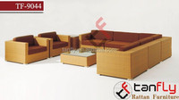 TF-9044 wicker rattan sofa outdoor plastic rattan sofa set