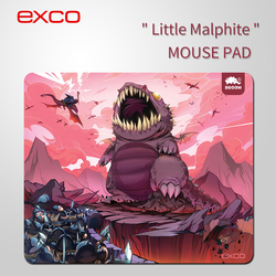 EXCO Cartoon mouse pad, little malphite lovely mouse pad, cute and sweet anime mouse pad