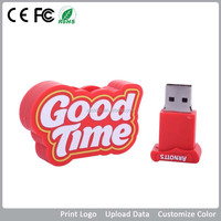 Customized pvc usb flash drive 1gb 2gb 4gb 8gb 16gb 32gb