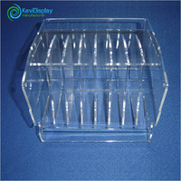 Indoor Transparent Acrylic Cosmetic Display Unit For Women
