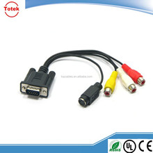 OEM/ODM VGA to rca splitter cable