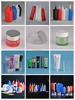 320ml high quality empty plastic tube Structural Glazing Silicone Sealants tube