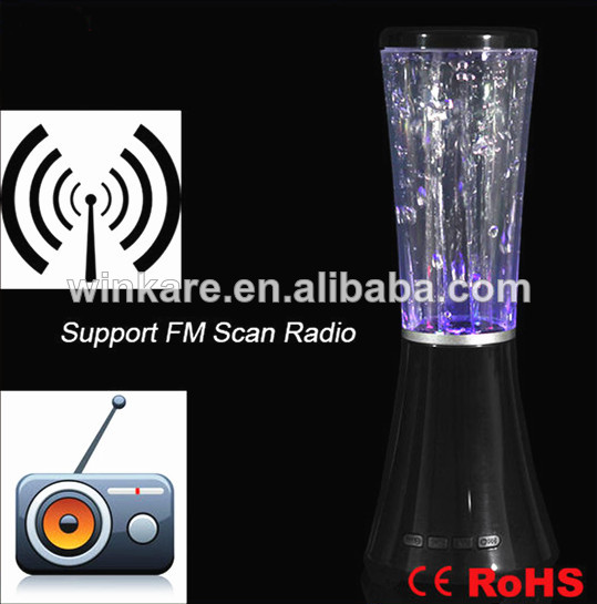 Good promotion items music led large water dancing speaker