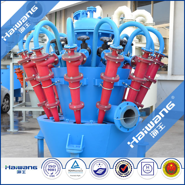 High Efficiency , Extend Wear Life And Reduce Cost Cyclones Separator