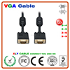 High Quality thin film 3+6 Constructures vedio audio to vga cable