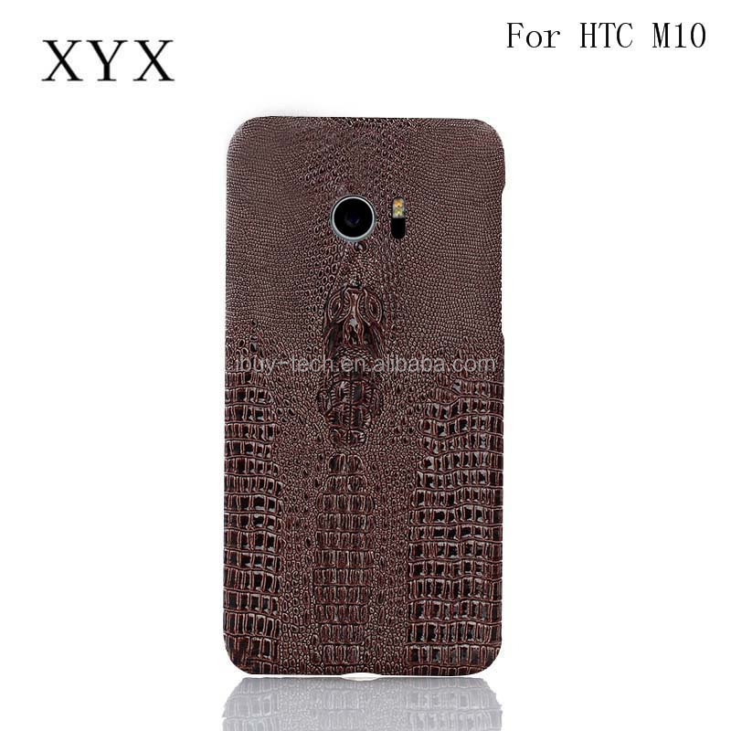 Fashion accessories Shenzhen mobile phone shell leather back hard cover for htc one <strong>m10</strong>