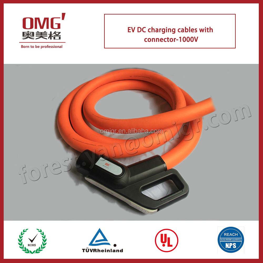 popular DC charging cables for EV battery and charging post to electric vehicle-DC1000V