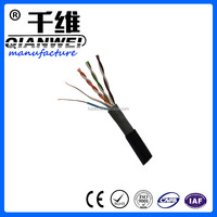 Hebei Hongchuang Optical Fiber Cable transceiver used for monitor in cctv camera cat5e best product