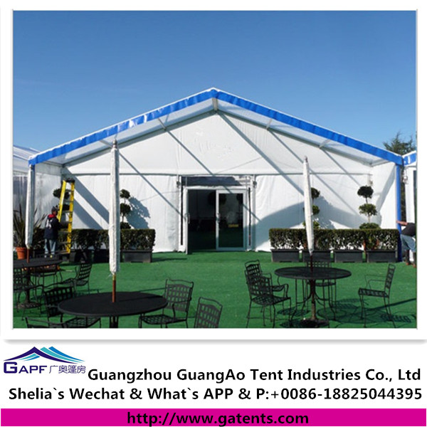China manufacture luxury durable marquee restaurant tent for sale