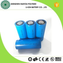 Power Supply Rechargeable 3.2V 3200Ah Lifepo4 Cell 26650 Battery