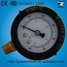 (Y-50) 50mm bottom style thread protective sleeve case standard portable pressure calibrator pressure gauge