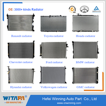 Over 3000 kinds OEM Quality auto car radiator by Manufacture