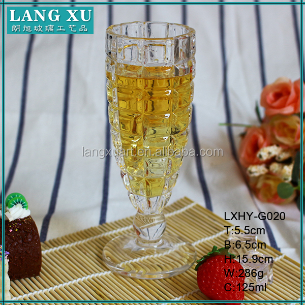 Handmade glass champagne flutes wholesale