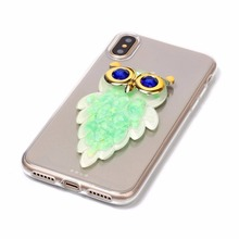 Animal Shaped Glitter Liquid Quicksand Case For Iphone 6s
