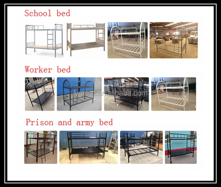 Strong loading capacity steel twin beds