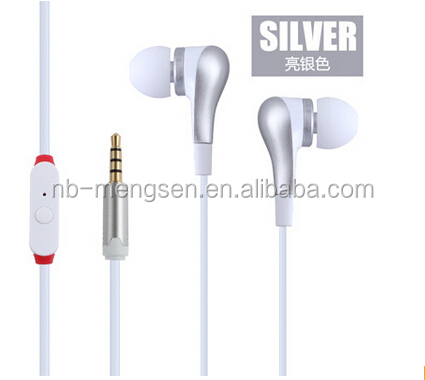 MP3 MP4 player High Quality Cheap Earphone With MIC