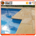 The best selling products Wooden Sandstone swimming pool tile