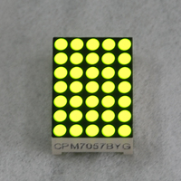 common anode/cathode dot matrix display dot screen 5x7 dia 3mm