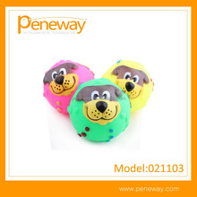 Custom logo glow in dark pet toys for hospital