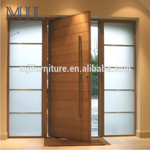 High Quality Low Price Custom Size Wood Swing Front Door