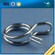 Custom Stainless steel metal small spring clamp metal wire clamps