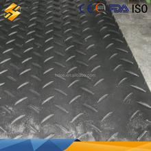 polyethylene portable roadway systems/1/2 polyethylene portable roadway/recycled polyethylene road plate