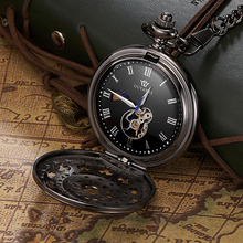 Factory Price Promotion Western Style Custom Dial Easy Read Small Cheap Smart Pocket Watch for Gifts