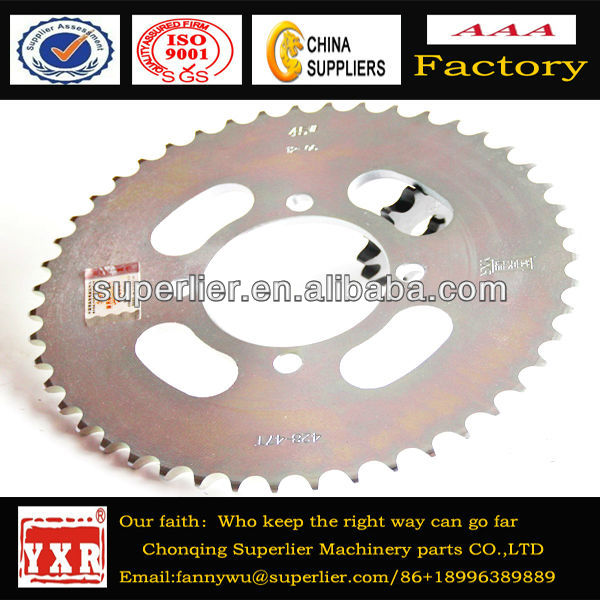 Motorcycle big sprocket,spare parts motorcycle cd70,looking for motorcycle parts importers