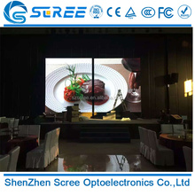 energy saving high resolution indoor p2.5 led advertising screen display price