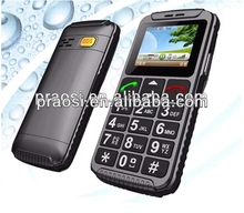 Simple use big button sos emergency call mobile phone for senior citizen W59