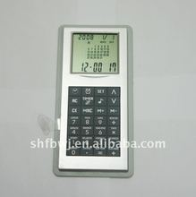 Calculator clock calendar