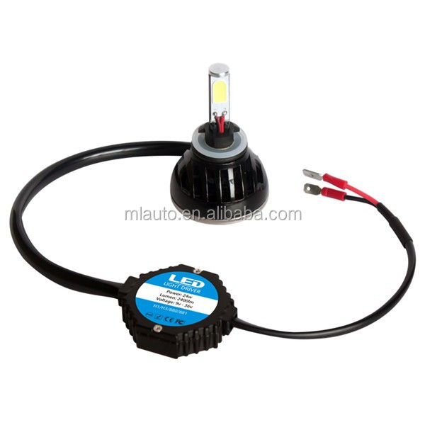 Milan 48 W 4800lm G5 880/881 LED Headlight Car Motorcycle Conversion Bulb 6000k