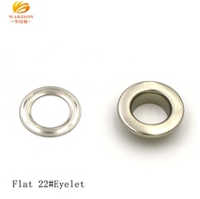 10 mm Flat Silver Nickel High Quality Shoes Garments Hats Grommet Eyelet