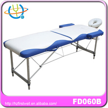 Wholesale foldable wooden massage table with carry bag