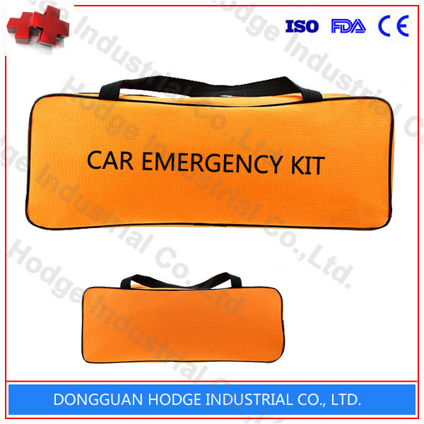 Auto emergency tool kit with booster cabcar roadside