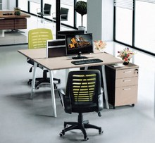 2015 hot sale high quality metal office desk for 2 people
