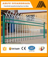 2015 Beautiful and stronger of anti climb security steel fence DK013