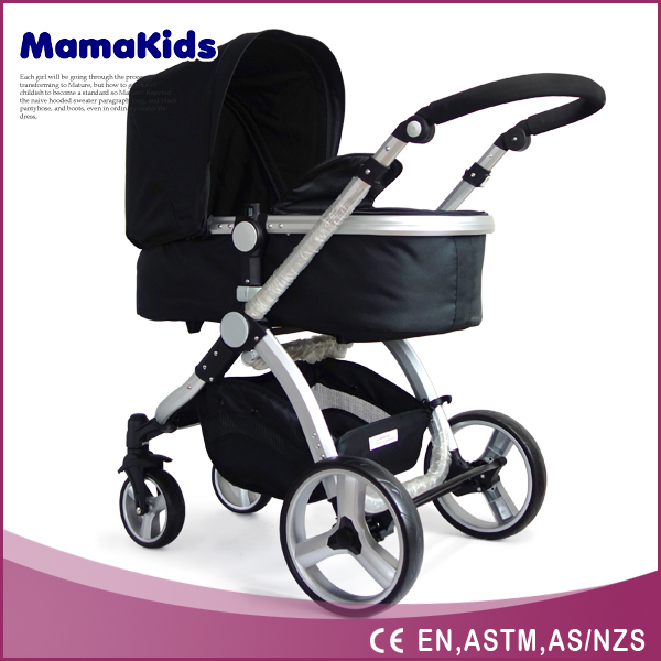 3 in 1 baby stroller new design alumium luxury frame baby stroller