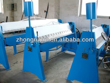 Economical hand operated folding machine,manual sheet bender machine for sale