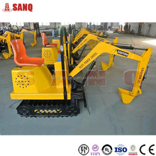 Amusement Kids Excavator With High Quality/ Amusement Rides Kids Excavator For Sale