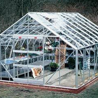 100 Virgin Material Green House With