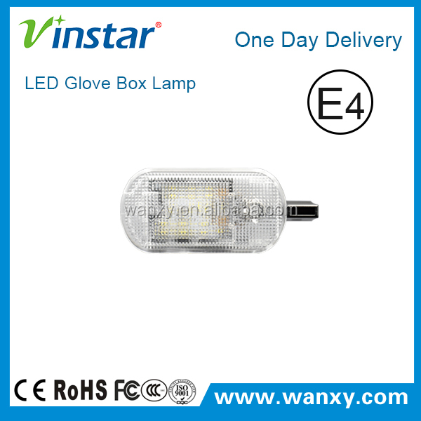 New products for Skoda LED Glove Box Lamp Error free auto lights for Skoda Fabia Octavia Superb Yeti led glove box lamp