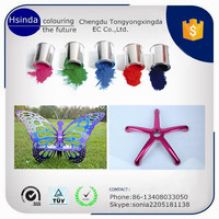 high quality artwork effect epoxy paint/powder coating for indoor use