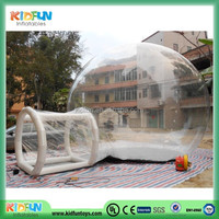 Customized hot sell lawn inflatable clear tent