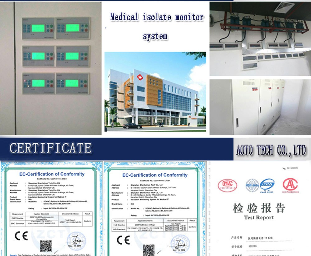 Medical Isolated Power System - isolated power supply - medical isolation transformer