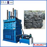 Buy direct from china manufacturer,High Yield scrap tire baler recycling machine