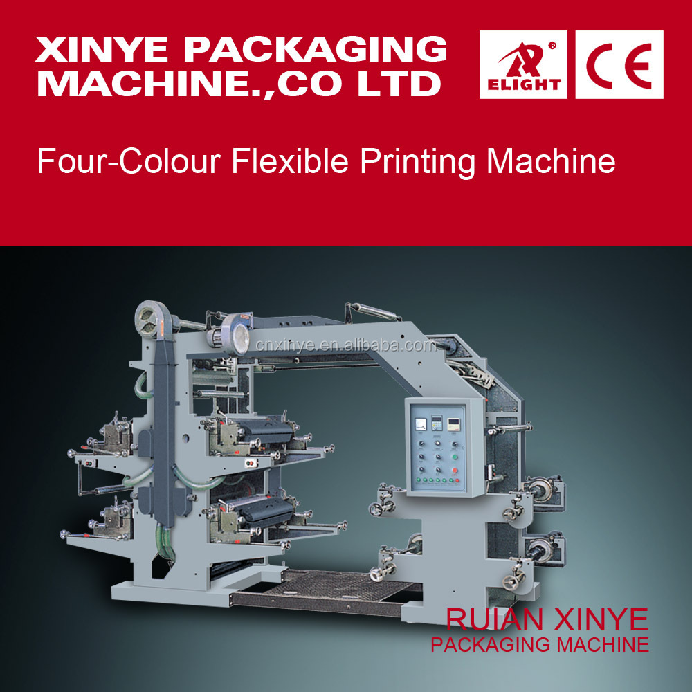 High Quality Four Colour Flexible Printing Machine
