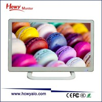 China Brand LED TV 22inch Flat Screen Wide Screen 1680*1050 Television