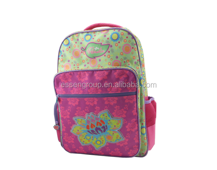 19inch children flower latest school bags for girls
