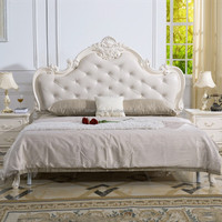 Modern Italian French baroque style king bedroom furniture